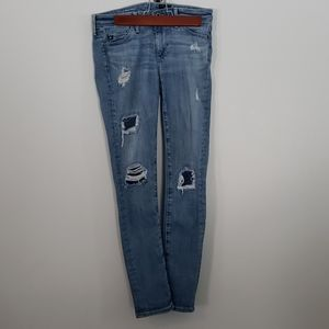 Adriano Goldschmied mid rise light wash jeans